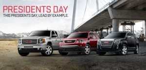 President's Day Sales Event at Briggs Buick GMC
